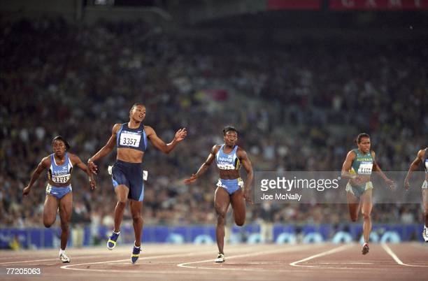 The US's Marion Jones winning the 200 meter sprint at the Sydney Olympics in September of 2000 Marion Jones admitted using steroids during the 2000...