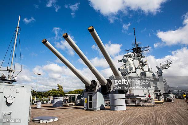 The USS Missouri Memorial where an annual commemoration ceremony is held on September 2 to commemorate the 1945 formal surrender of Japan to Allied...