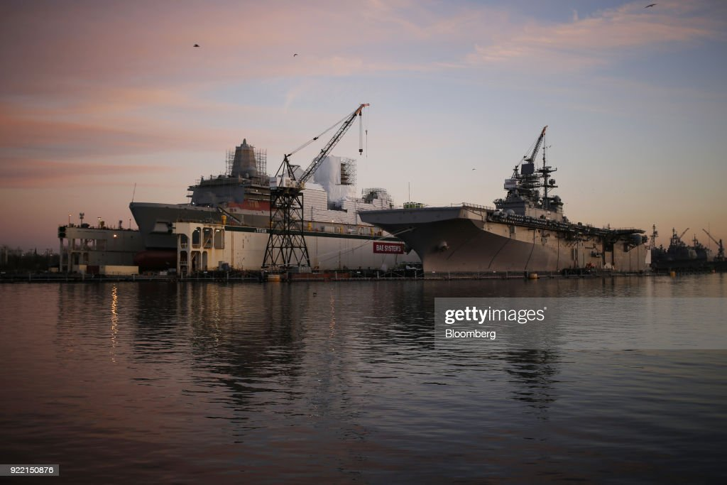 The BAE Systems Plc Norfolk Ship Repair Facility Ahead Of Earnings Figures