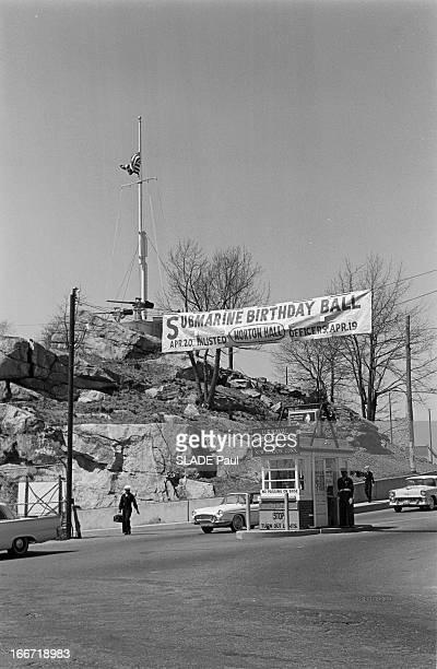The Uss Thresher Ssn593 Sink Off Boston Connecticut New London 13 Avril 1963 L'accident de USS Thresher sousmarin d'attaque à propulsion nucléaire de...