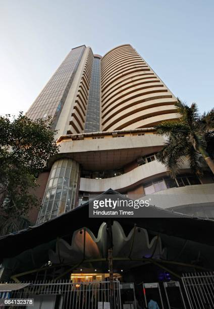 The usually crowded streets around the Bombay Stock Exchange building have been largely empty during weekdays for the past eight months