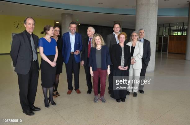 DPAECLUSIVE The USwhistleblower Thomas Drake British journalist Sarah Harrison Politician Martina Renner historian and writer Joseph Foschepoth...