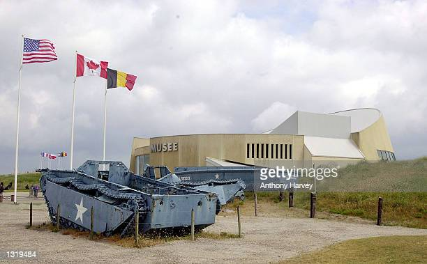 The Utah Beach Museum is seen June 6 2001 on Utah Beach in Normandy France The World premiere of HBO''s Band of Brothers will be shown June 6 2001...