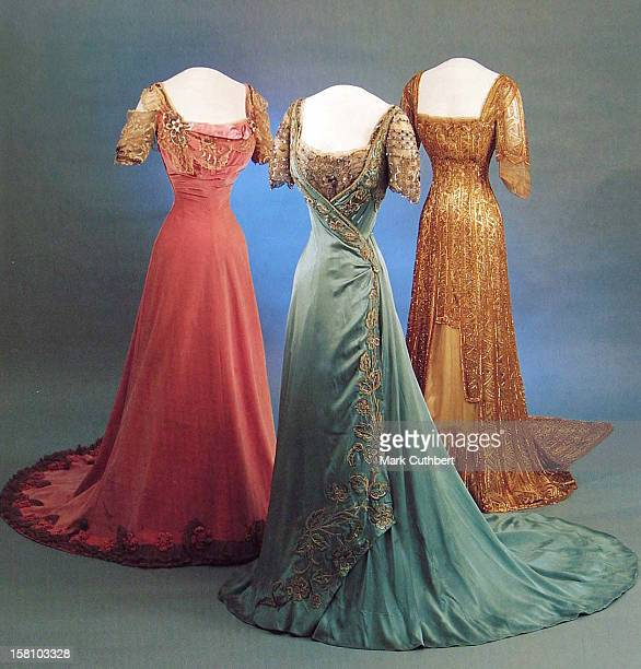 The V&A Museum Preview Of Style & Splendour: Queen Maud Of Norway'S Wardrobe 1896-1938.