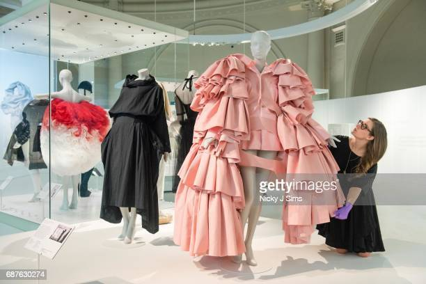 The VA Opens Spring 2017 Fashion Exhibition Balenciaga Shaping Fashion to celebrate the 100th anniversary of the opening of Cristobal Balenciaga's...