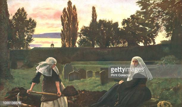 The Vale of Rest' 18581859 After a painting in the Tate Gallery London Subtitled 'Where the weary find repose' a quote from Mendelssohn's partsong...