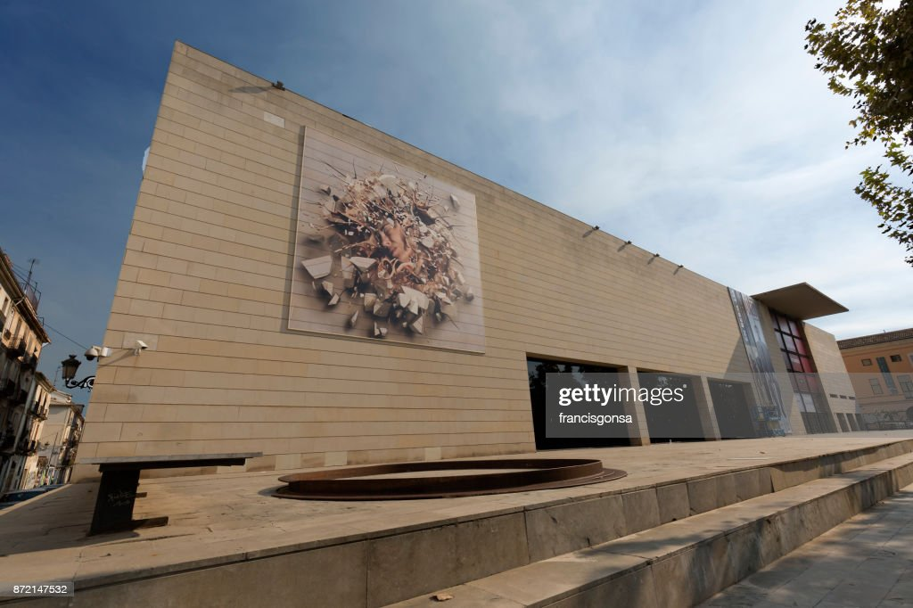 The Valencian Institute Of Modern Art High Res Stock Photo