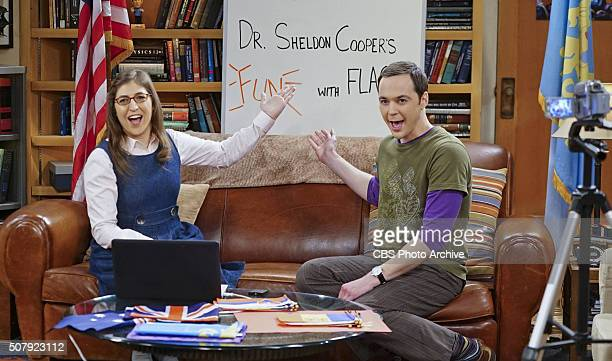"The Valentino Submergence"" -- Sheldon and Amy host a live Valentine's Day episode of Fun with Flag, on THE BIG BANG THEORY, Thursday, Feb. 11 , on..."