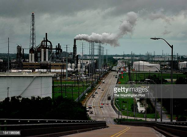 The Valero refinery looms on the horizon in Port Arthur Texas Port Arthur Texas is the end of the line for oil that would travel through the proposed...