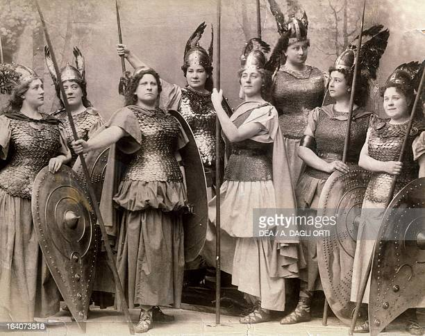 The Valkyrie by Richard Wagner scene from the opera Bayreuth 1896 Bayreuth RichardWagnerMuseum