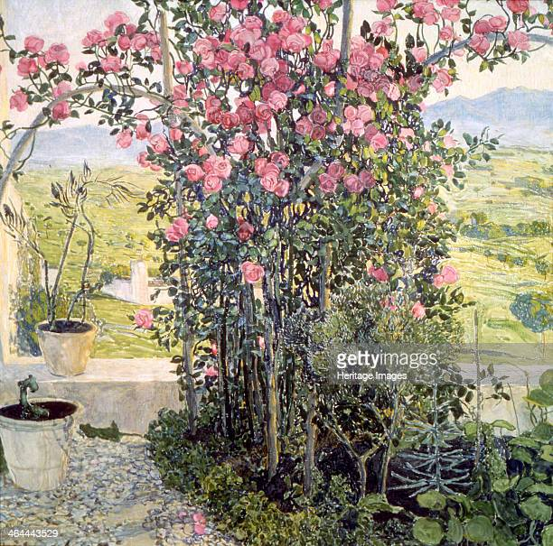 'The Valley in Umbria' 1910s Found in the collection of the State Tretyakov Gallery Moscow