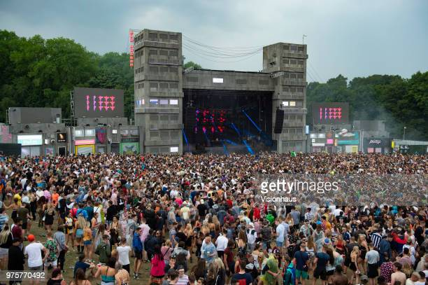 The Valley stage on day two of the Parklife Festival at Heaton Park on June 10, 2018 in Manchester, England.
