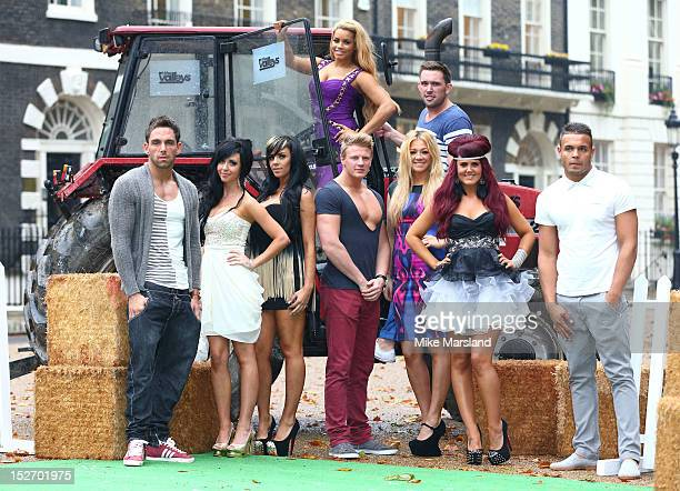 the Valleys cast of Leeroy Reed Liam Powell Darren Chidgey Aron Williams Nicole Morris Carley Belmonte Natalee Harris Lateysha Grace and Jenna...
