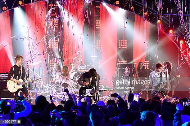 The Vamps and Fifth Harmony perform onstage at the Sixth Annual Nickelodeon HALO Awards in New York City The hourlong concert special will premiere...