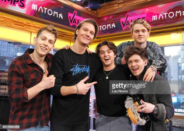 AMERICA The Vamps perform live on 'Good Morning America' Monday March 13 airing on the ABC Television Network THE
