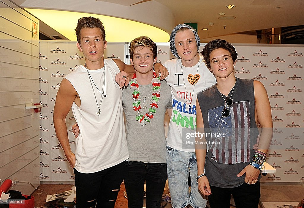 The vamps sign copies of their cd photos and images getty images the vamps pose for a photo before signing copies of their new album meet the m4hsunfo