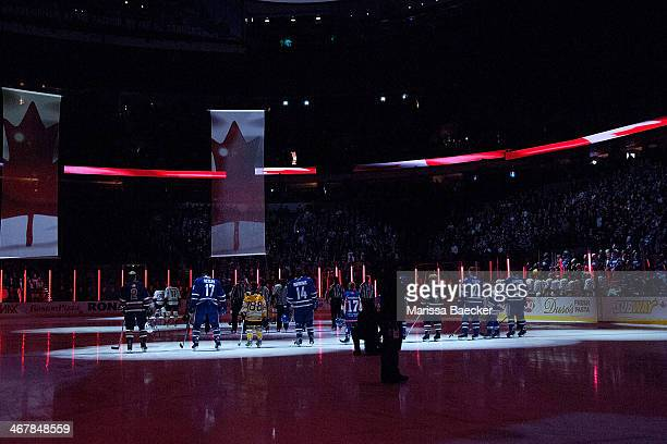 The Vancouver Canucks celebrate minor hockey in British Columbia by inviting members of BC hockey associations onto the ice during the national...