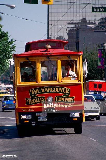 The Vancouver Trolley on Robson Street
