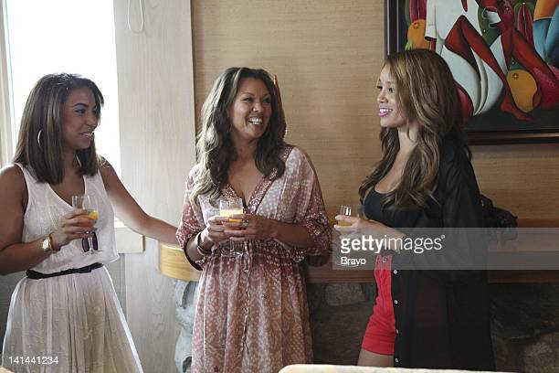 ROBLÉ CO The Vanessa Williams House Party Episode 103 Pictured Daughter Melanie Hervey Vanessa Williams daughter Jillian Hervey Photo by Heidi...