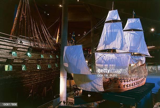 The Vasa Museum on the island of Djurgarden, Sweden, east of Stockholm.