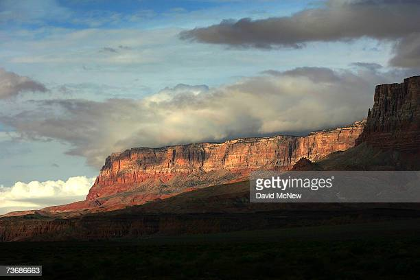 The vast Vermillion Cliffs area near Marble Gorge east of Grand Canyon National Park provides inaccessible habitat for rare and endangered California...