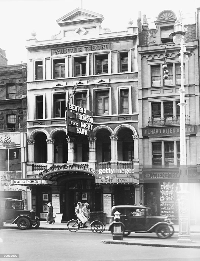 The Vaudeville Theatre : News Photo
