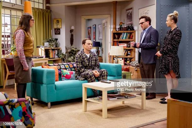 'The VCR Illumination' Pictured Amy Farrah Fowler Sheldon Cooper Leonard Hofstadter and Penny Sheldon and Amy are still down about their theory being...