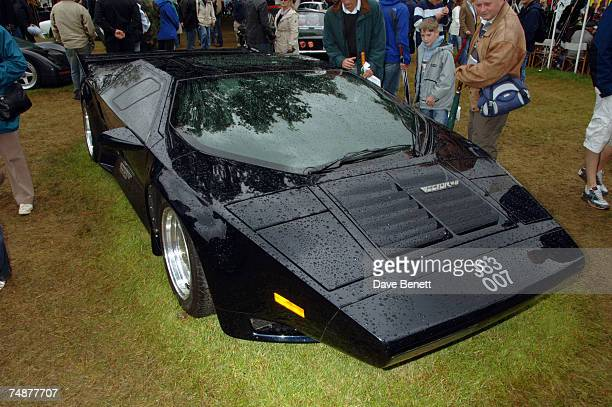 The Vector W8 is displayed at the Goodwood Festival of Speed on the Earl of March's private lawn on June 24 2007 in Goodwood England