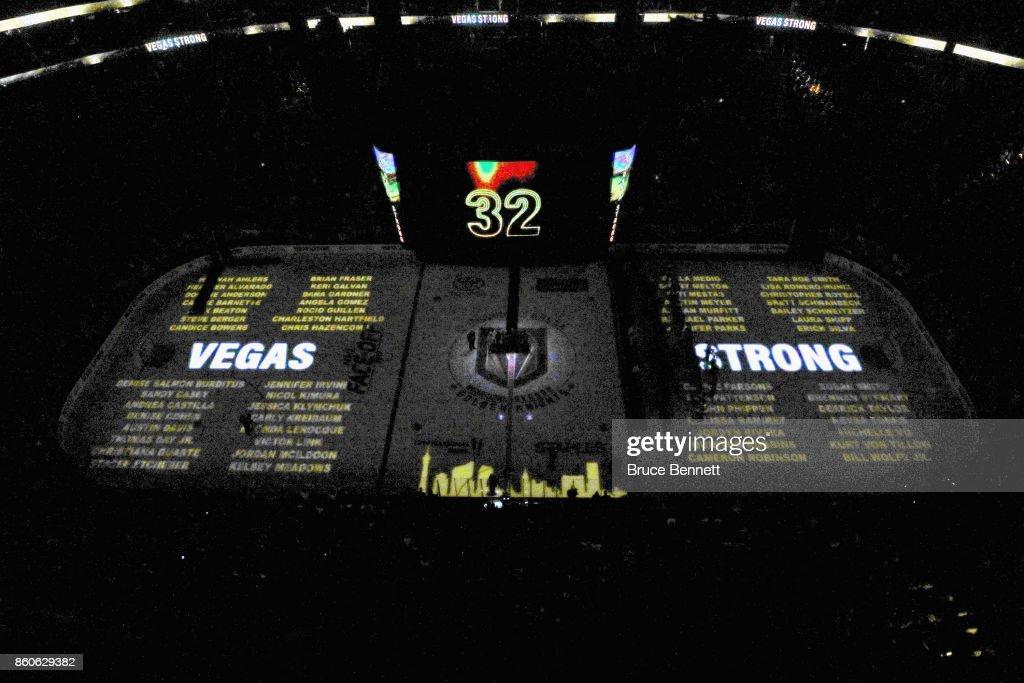 Arizona Coyotes v Vegas Golden Knights : News Photo