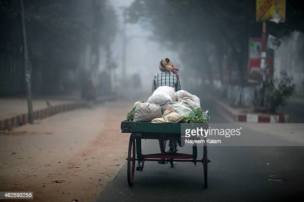 the vegetable-walla - bangladesh stock pictures, royalty-free photos & images