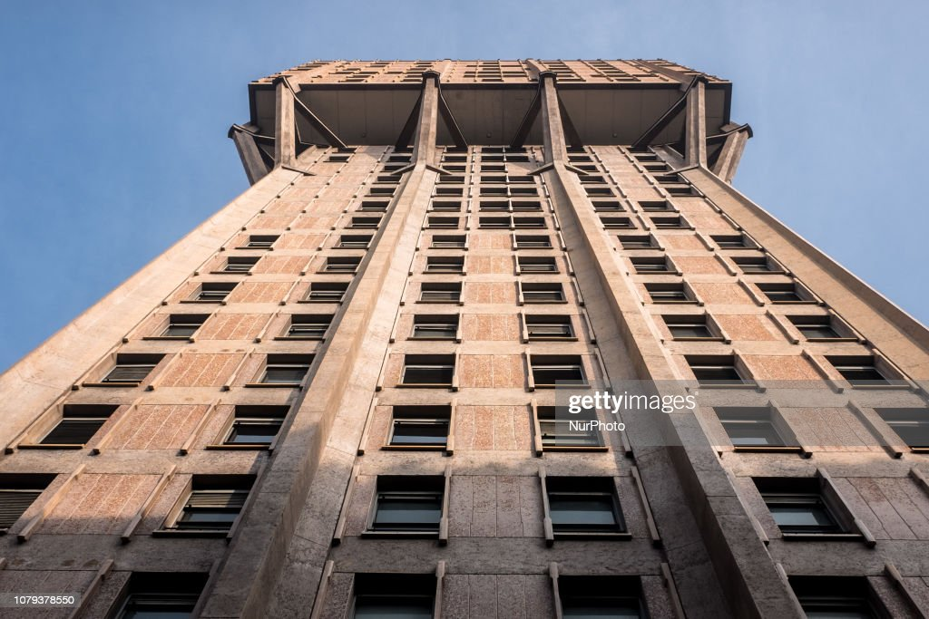 Torre Velasca Could Be Put Up For Sale At Over 100 Million : Nachrichtenfoto
