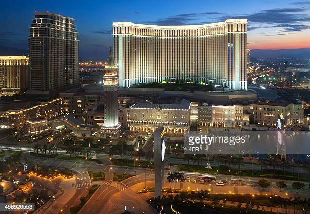 the venetian casino and hotel in macao, china - the venetian macao stock photos and pictures