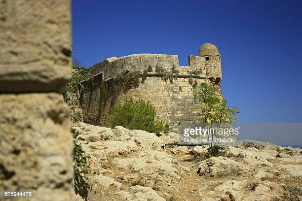 The Venetian fortress in Rethymno