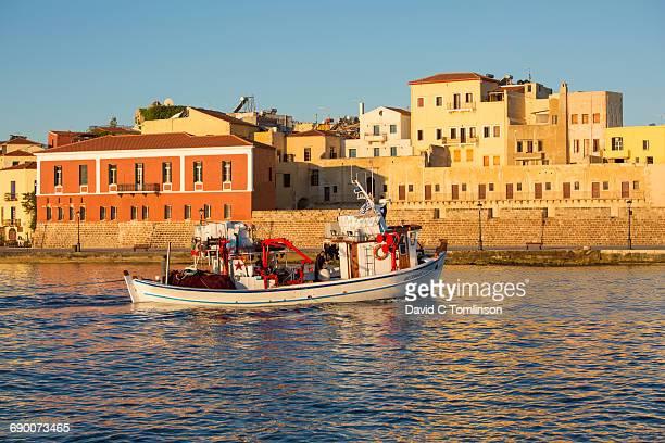 The Venetian Harbour at sunrise, Hania, Crete
