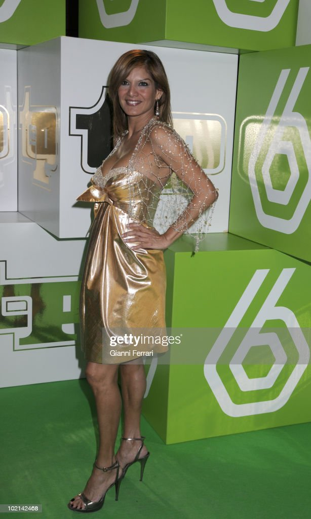 The venezuelan acttress and TV presenter Ivonne Reyesto the deliverery of the awards 'TP of Gold' for the best presenters, actors and programs of the Spanish televisions, 10 February 2009, 'Palacio de Congresos', Madrid, Spain.