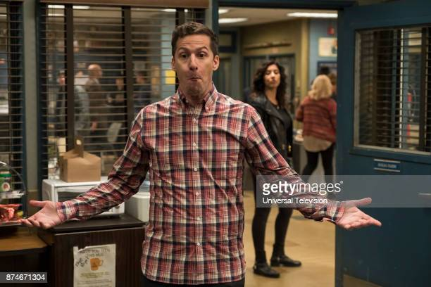 NINE 'The Venue' Episode 506 Pictured Andy Samberg as Jake Peralta