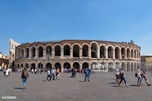 The Verona Arena in Verona,Italy
