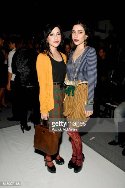 The Veronicas attends Richie Rich 2011 Fashion Show at The Studio at Lincoln Center on September 9 2010 in New York City