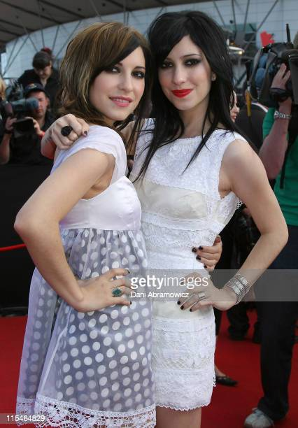 The Veronicas during 2006 ARIA Awards Arrivals at Acer Arena Sydney Olympic Park in Sydney NSW Australia