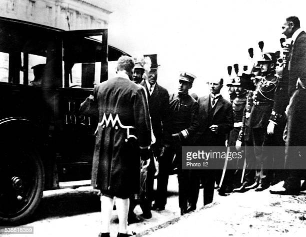 all the leaders coming for the signature June 1919 Germany Vincennes War museum