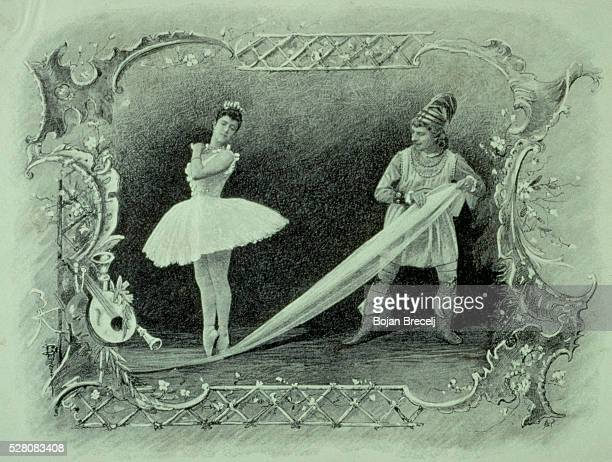 The very first production of Tchaikovsky's Nutcracker was performed in 1892 at the Mariinsky Theatre in Sankt Peterburg and featured Antoinetta...