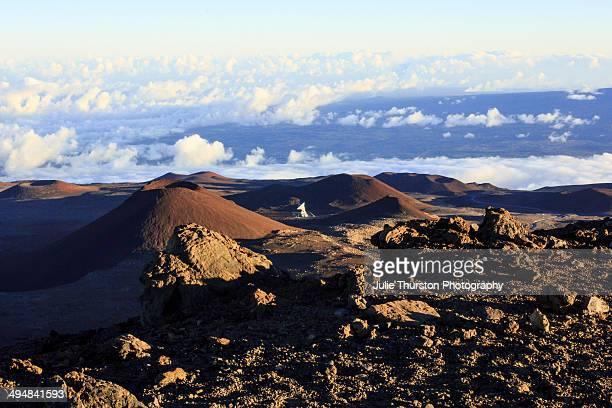 The Very Long Baseline Array Telescope on Mauna Kea Big Island Hawaii