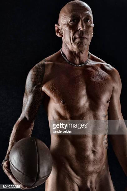 le joueur de rugby vétéran - rugby photos et images de collection
