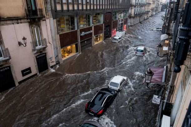 ITA: Italy's Sicily Island Hit By Fierce Cyclonic Storm