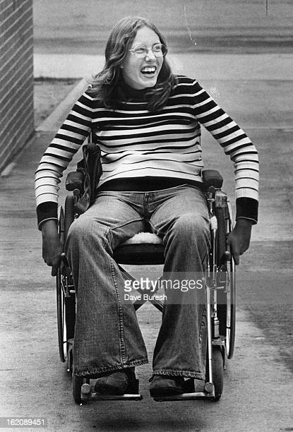 MAY 22 1975 JUN 18 1975 The 'Vibes' Are Good For Stella Stella Johnston 15year old Heritage High school sophomore if first paraplegic student to...