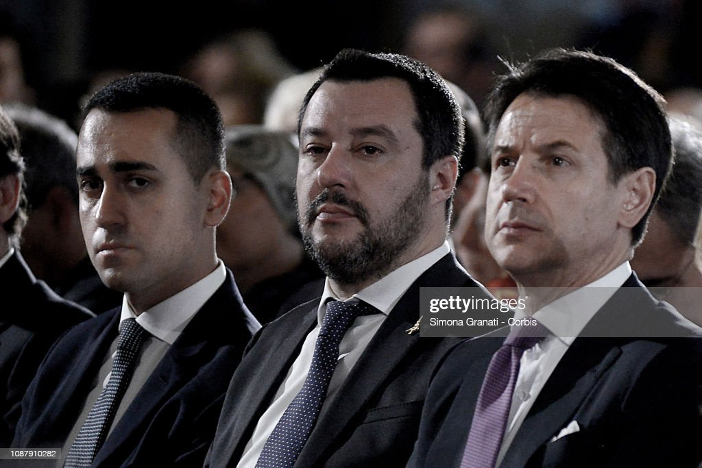Italian Daily Politics 2019 : News Photo