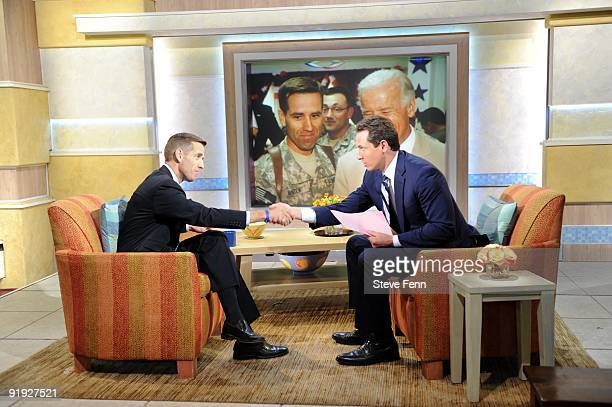 AMERICA The Vice President's son Beau Biden talks about his tour of duty in Iraq on GOOD MORNING AMERICA 10/15/09 on the Walt Disney Television via...