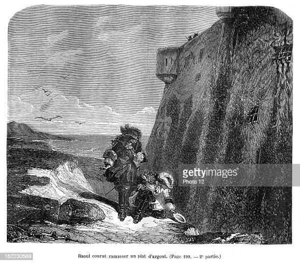 The Vicomte De Bragelonne Illustration by J Desandre and A de Neuville Edition 1871 Alexandre Dumas Private collection