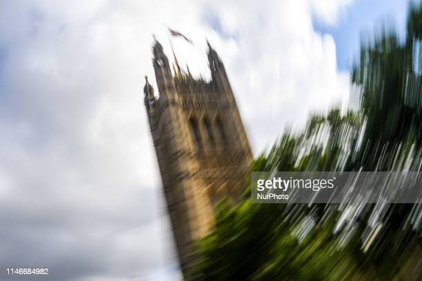 The VIctora Tower is pictured in London on May 28 2019