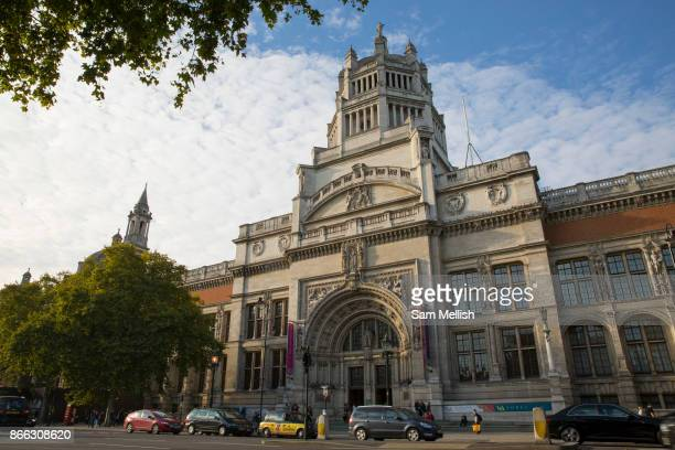 The Victoria and Albert Museum on 14th October 2015 in London United Kingdom